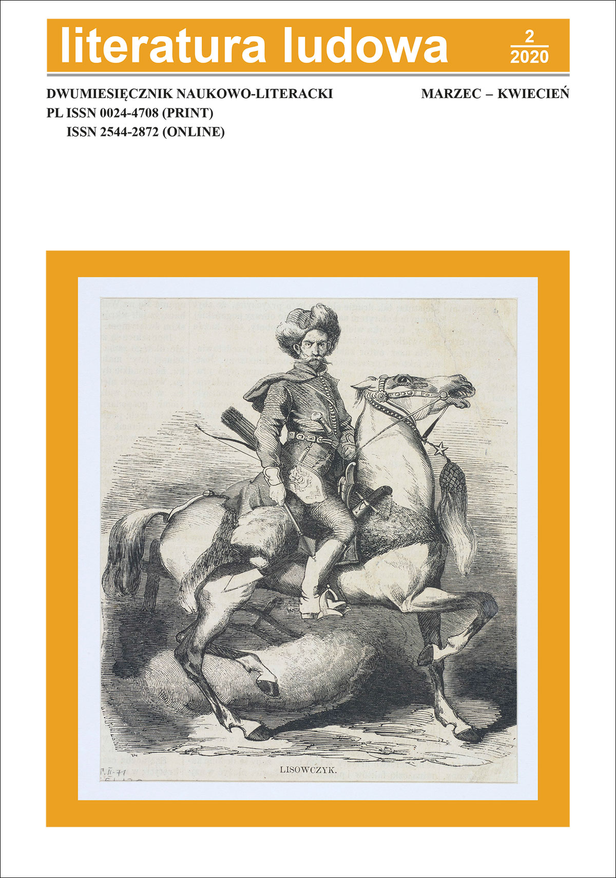 View No. 2 (2020): Literatura Ludowa