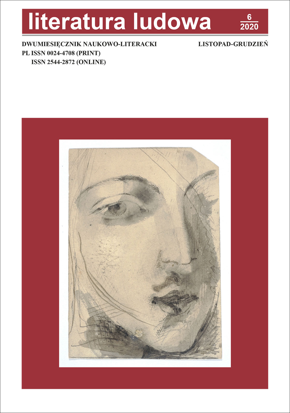 View No. 6 (2020): Literatura Ludowa
