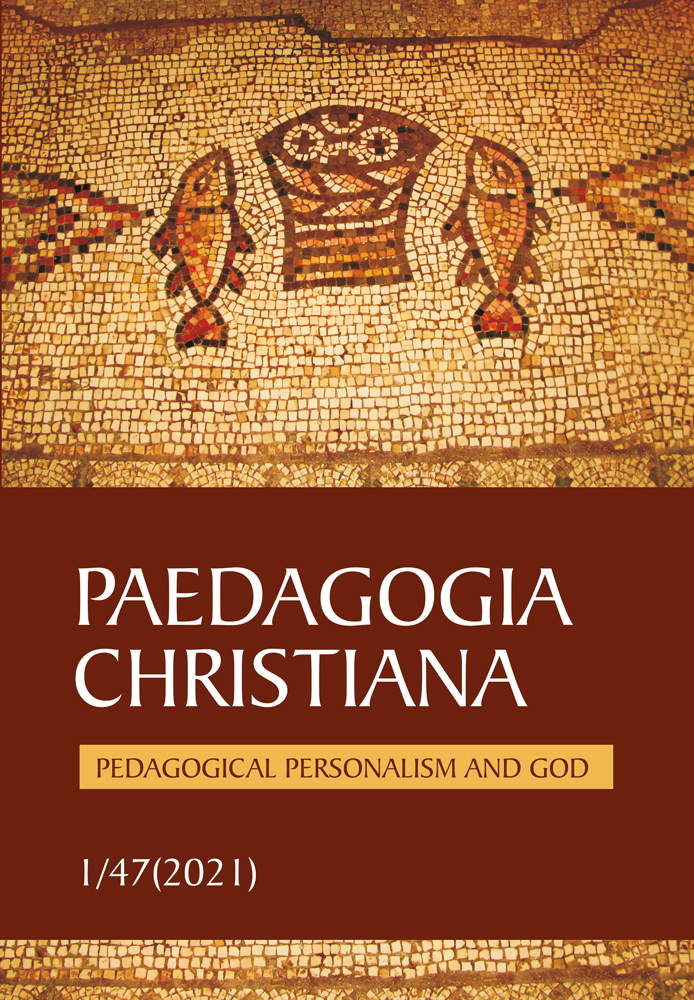 View Vol. 47 No. 1 (2021): Pedagogical Personalism and God