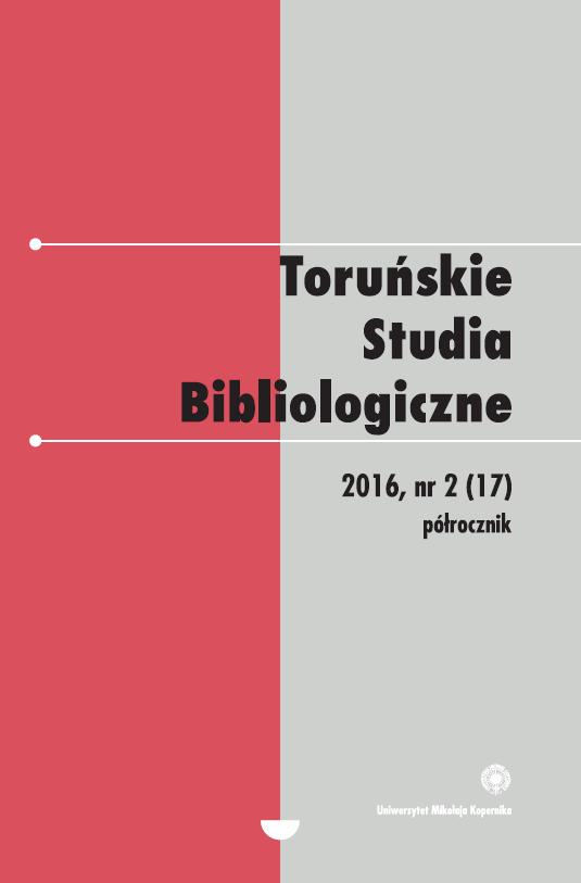 Pokaż  Tom 9 Nr 2 (17) (2016)