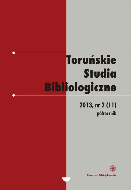 Pokaż  Tom 6 Nr 2 (11) (2013)