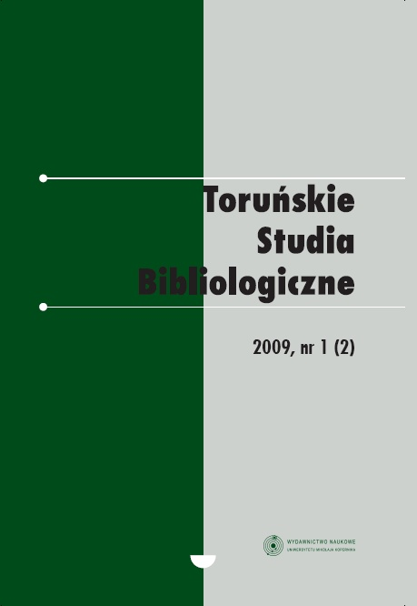 Pokaż  Tom 2 Nr 1 (2) (2009)