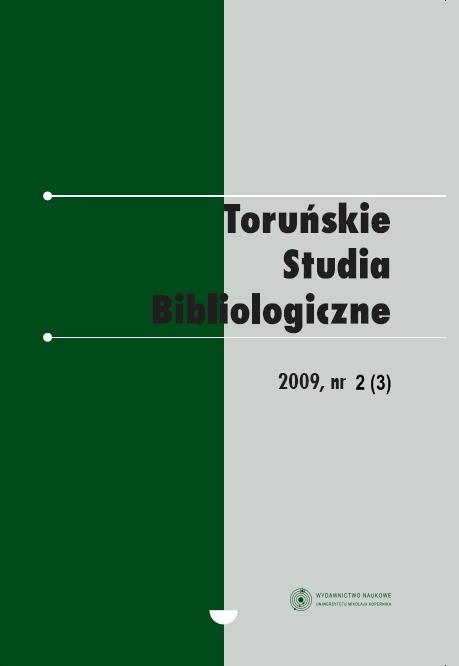 Pokaż  Tom 2 Nr 2 (3) (2009)