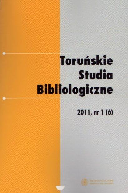 Pokaż  Tom 4 Nr 1 (6) (2011)