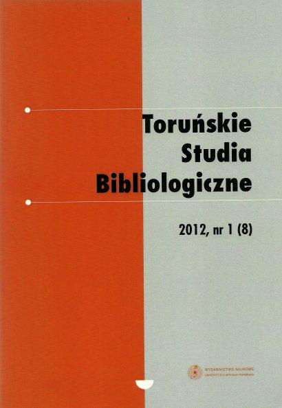 Pokaż  Tom 5 Nr 1 (8) (2012)