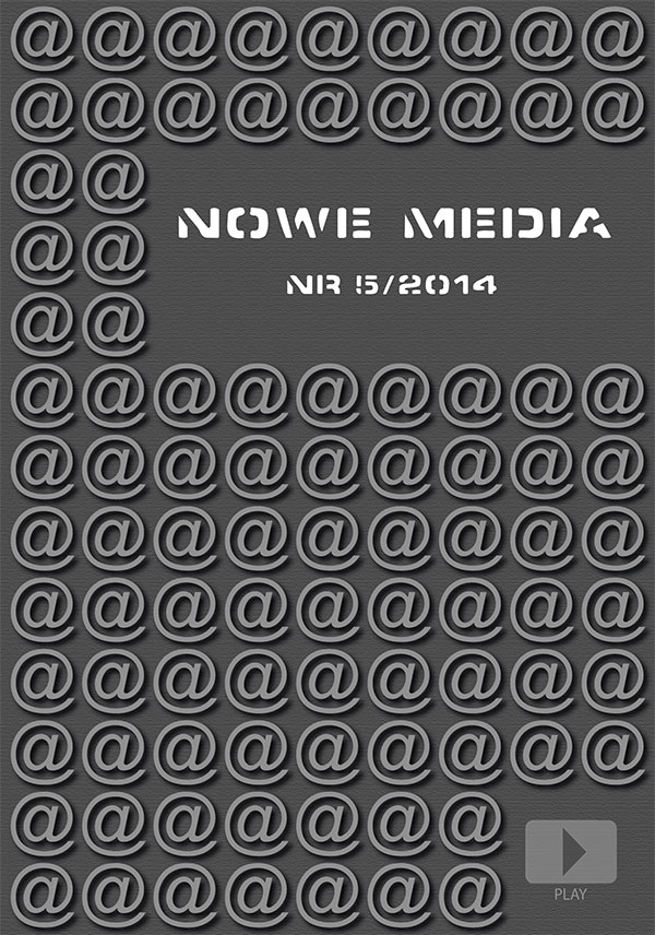Pokaż  Tom 5 (2014): Udział mediów społecznościowych w rozwoju kultury i przedsiębiorczości