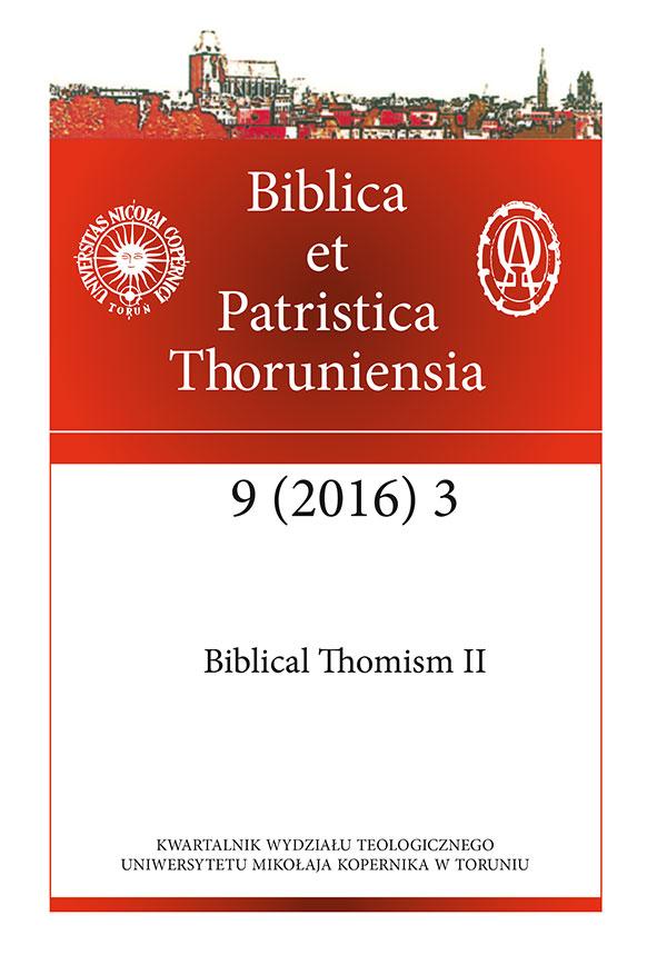 Pokaż  Tom 9 Nr 3 (2016): Biblical Thomism II