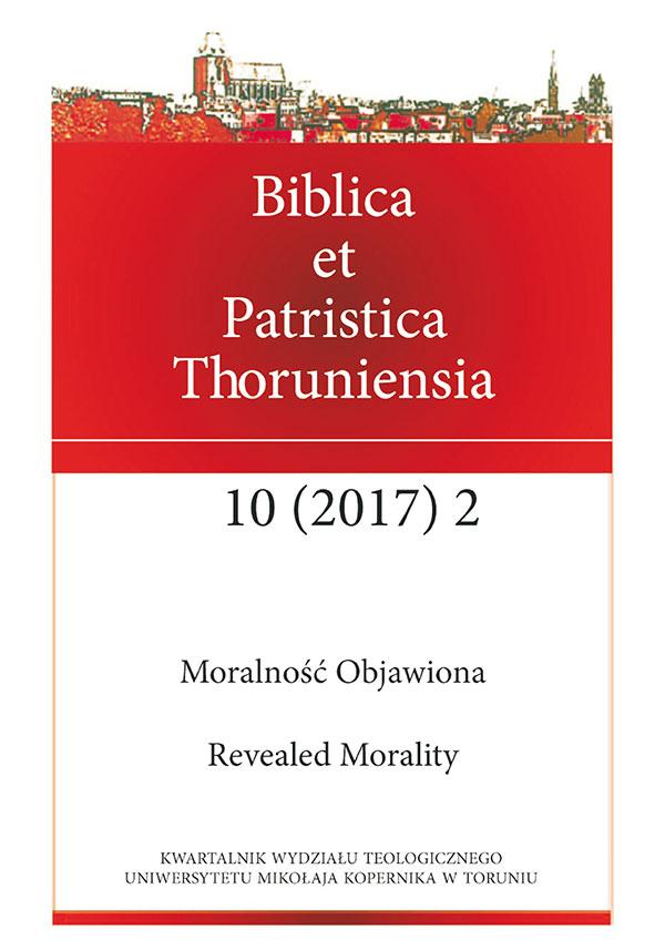 Pokaż  Tom 10 Nr 2 (2017): Moralność Objawiona
