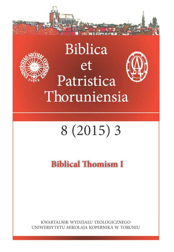 Pokaż  Tom 8 Nr 3 (2015): Biblical Thomism I