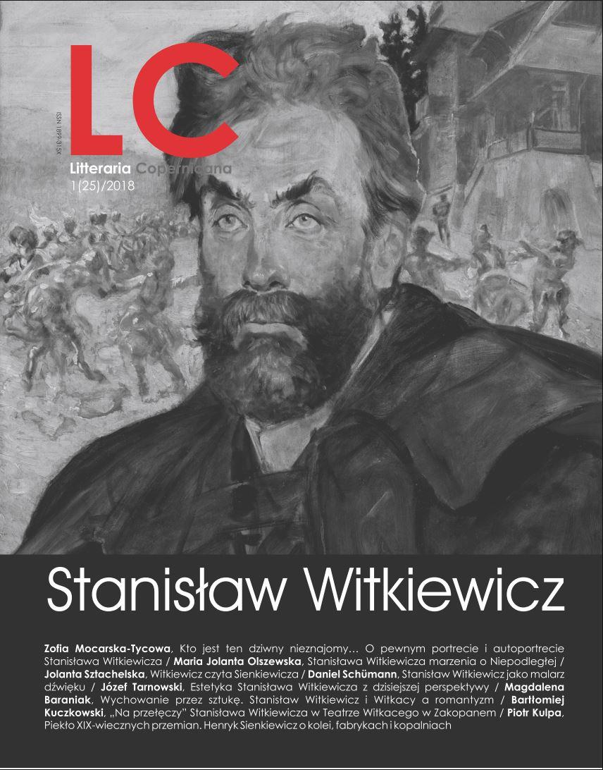 Pokaż  Nr 1(25)/ (2018): Stanisław Witkiewicz