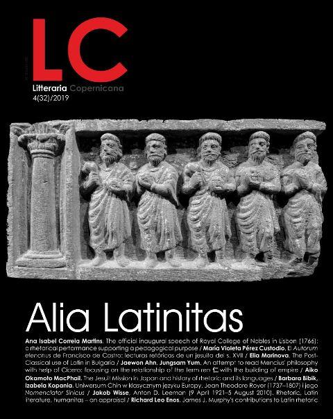 Pokaż  Nr 4(32)/ (2019): Alia Latinitas