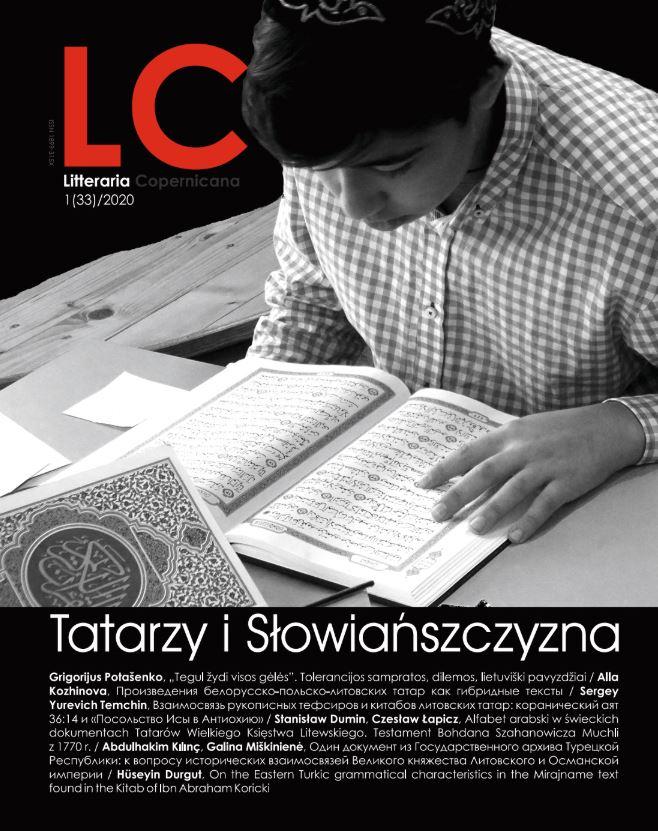 Pokaż  Nr 1(33)/ (2020): Tatarzy i Słowiańszczyzna