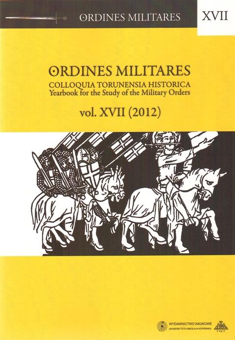 Ordines Militares vol. XVII (2012)