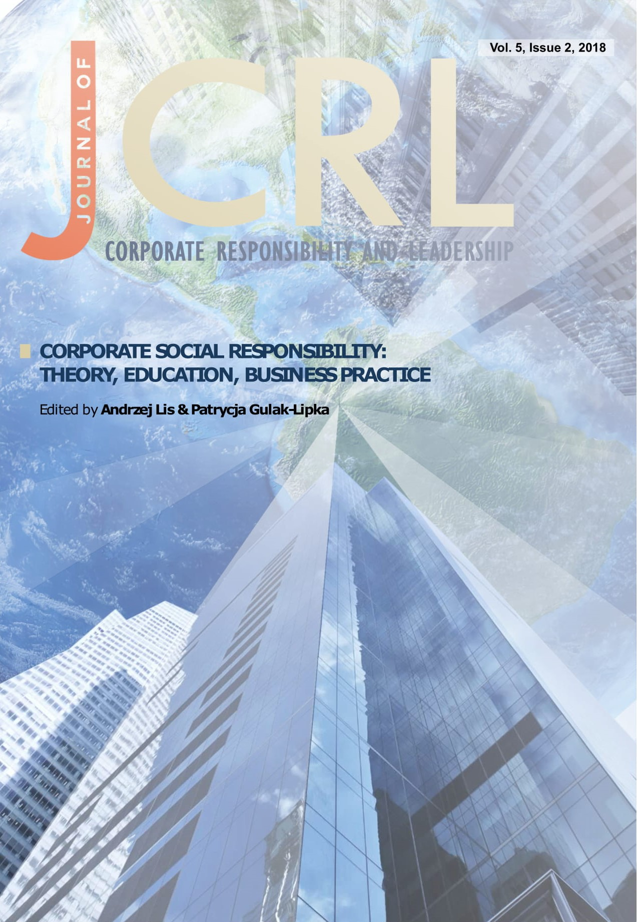 View Vol. 5 No. 2 (2018): Corporate Social Responsibility: Theory, Education, Business Practice