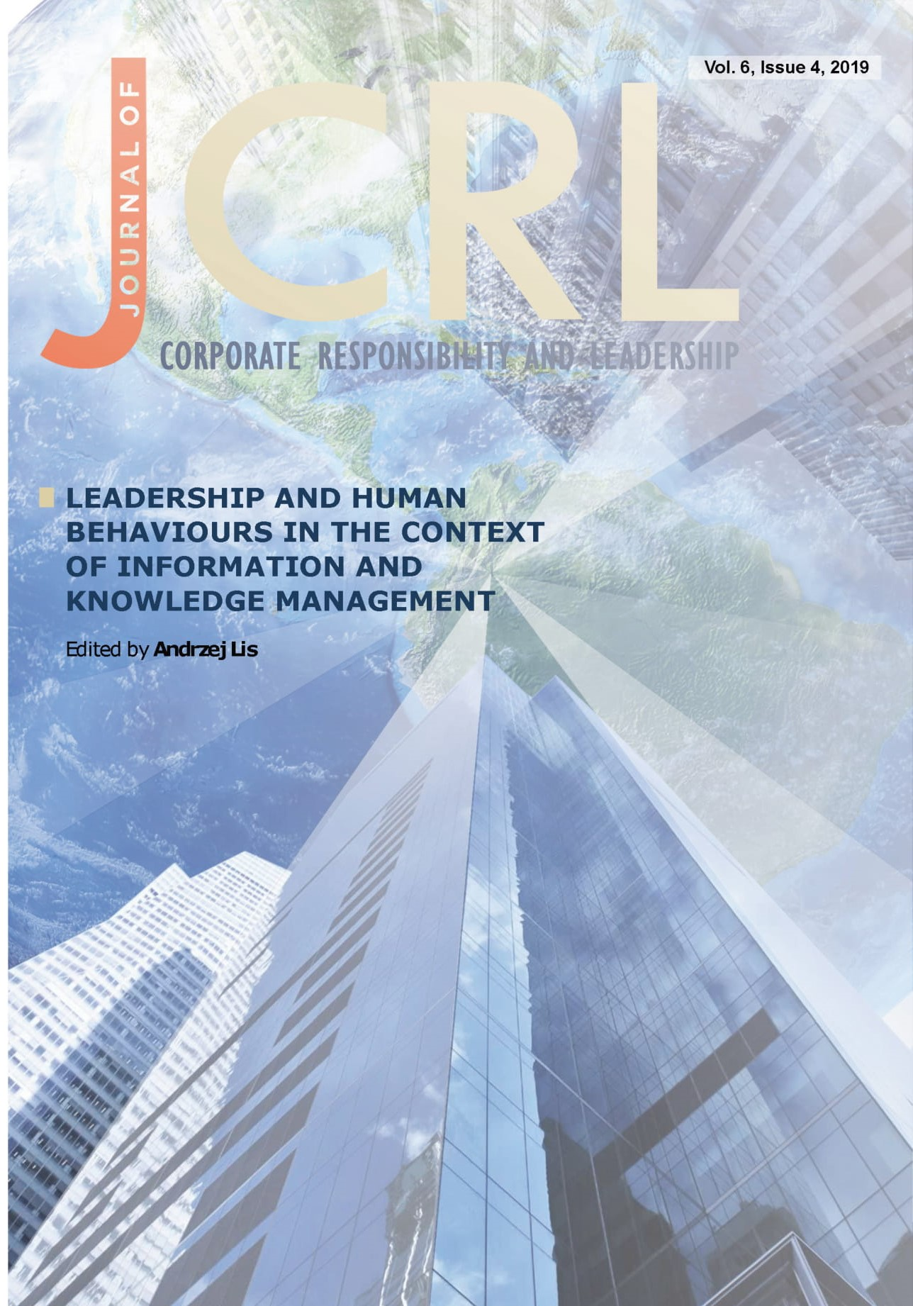 View Vol. 6 No. 4 (2019): Leadership and Human Behaviours in the Context of Information and Knowledge Management