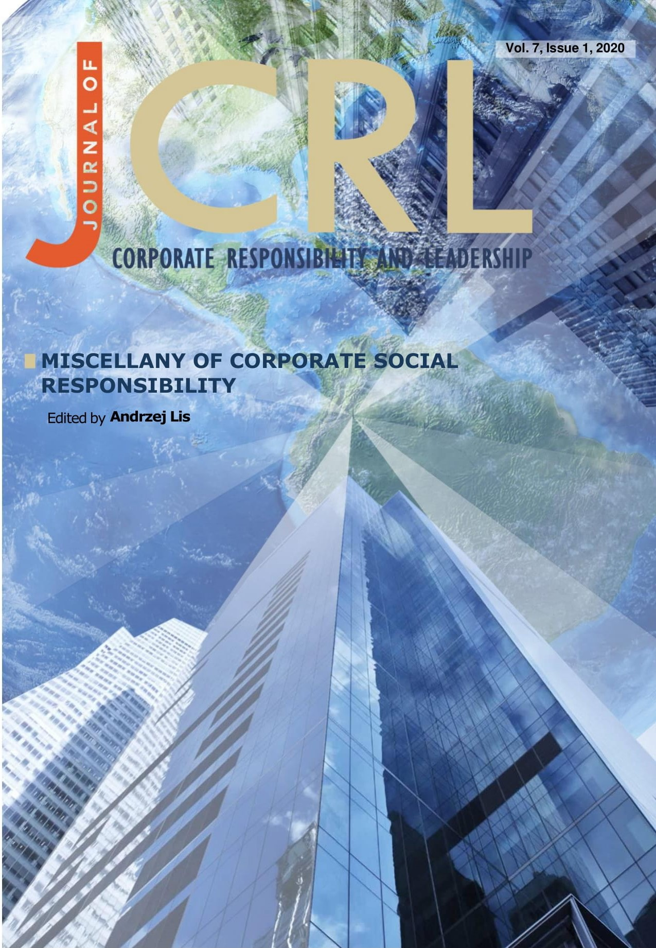 View Vol. 7 No. 1 (2020): Miscellany of Corporate Social Responsibility