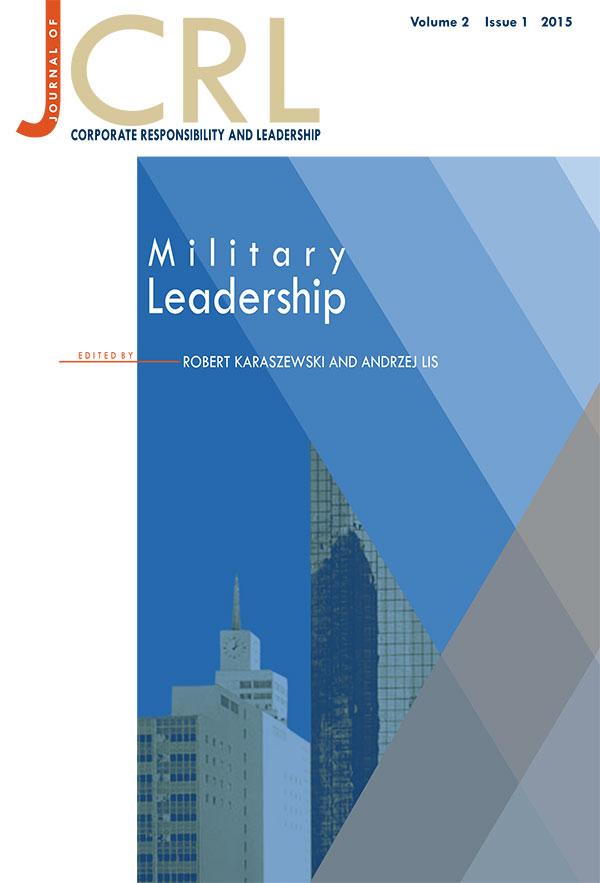 View Vol. 2 No. 1 (2015): Military Leadership